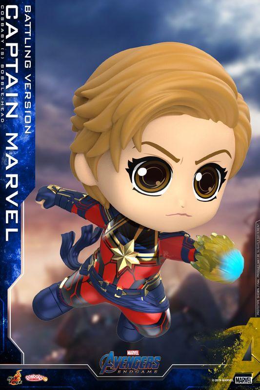 Avengers: Endgame - Captain Marvel (Battling) Cosbaby Figure