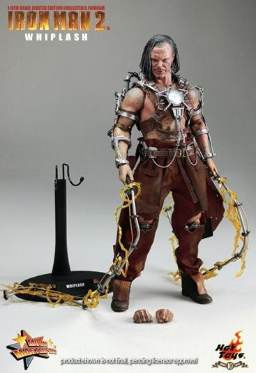 Iron Man 2 Whiplash 1:6 Action Figure Set (Movie Masterpiece series) image
