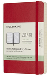 Moleskine Pocket Soft Cover 18 Month Weekly Planner - Scarlet Red