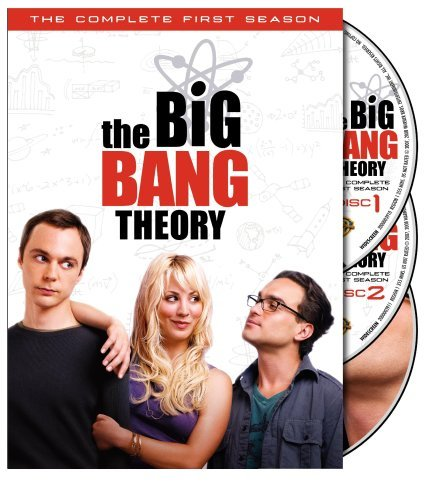 The Big Bang Theory - Complete 1st Season DVD image