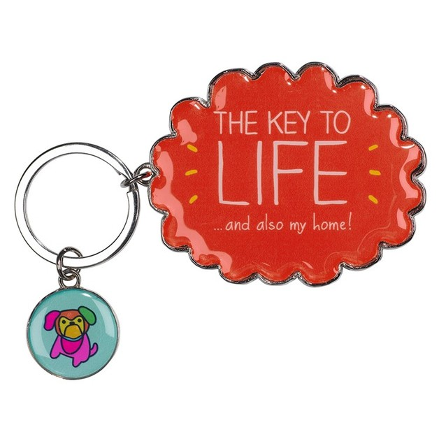 Happy Jackson Key To Life Keyring