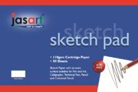 Jasart: Gummed Sketch Pad - A2 (50 Sheets)