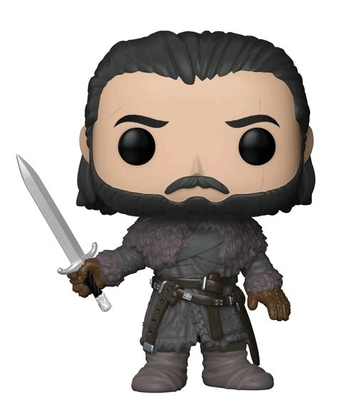 Game of Thrones - Jon Snow (Beyond the Wall Ver.) Pop! Vinyl Figure