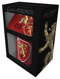 Game Of Thrones - Lannister (Mug & Coaster & Keychain)