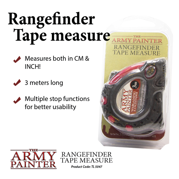 Army Painter Rangefinder Tape Measure