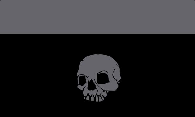 Legion Play Mat: Iconic Skull