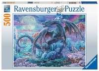 Ravensburger: 500 Piece Puzzle - Mystical Dragons