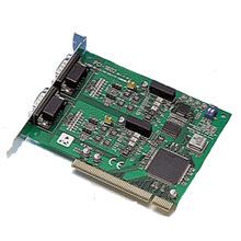 Advantech 2 Port PCI RS-422/485 Comms Card + Optical image