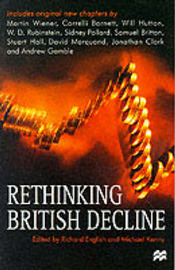 Rethinking British Decline by Richard English image