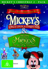 Mickey's Christmas 2-Pack (Once Upon A Christmas / Twice Upon A Christmas) on DVD