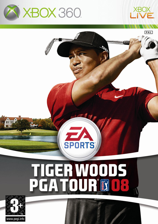 Tiger Woods PGA Tour 08 for Xbox 360 image