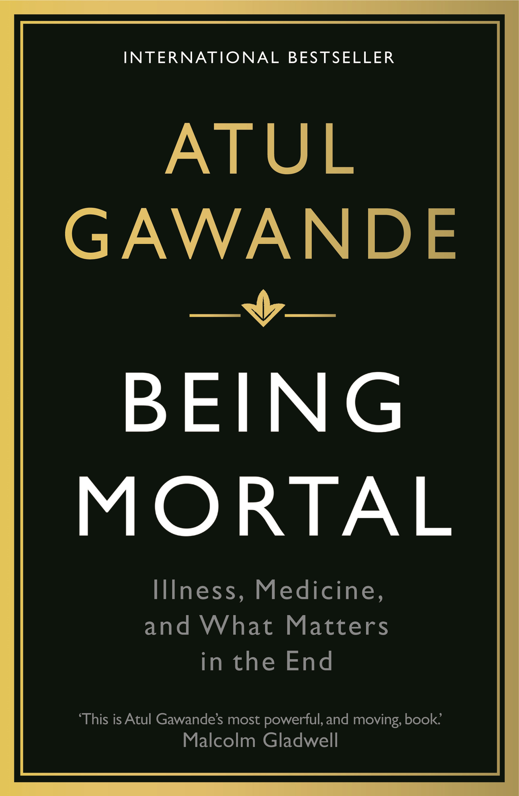 Being Mortal by Atul Gawande image