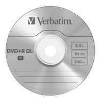 Verbatim DVD+R DL 8.5GB Jewel Case 8x (5 Pack) image