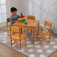KidKraft: Farmhouse (Natural) - Table & Chair Set