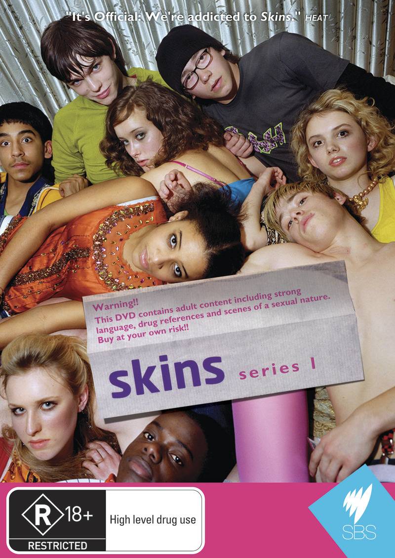 Skins - Complete 1st Series (3 Disc Set) on DVD image
