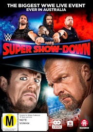 Wwe: Super Show-down 2018 on DVD