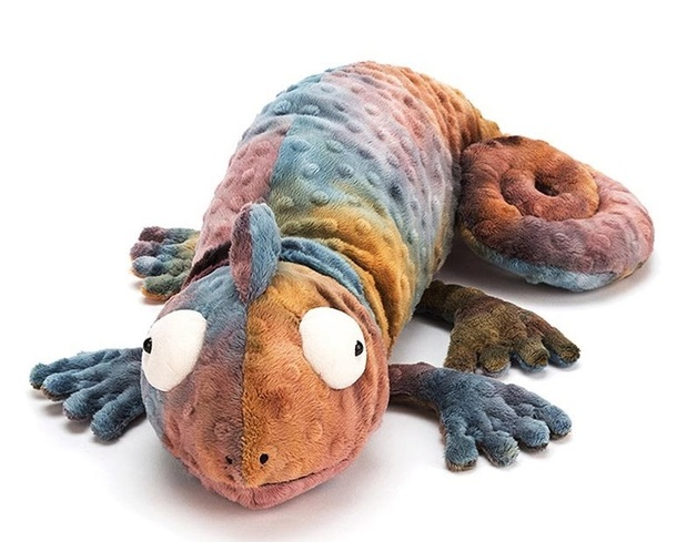 Jellycat: Colin Chameleon - Lying Plush