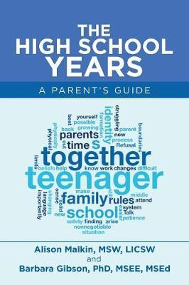 The High School Years by Alison Malkin Msw Licsw
