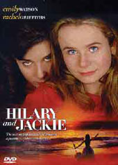 Hilary And Jackie on DVD
