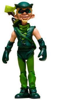 Just Us League of Stupid Heroes Series 1 Green Arrow Action Figure
