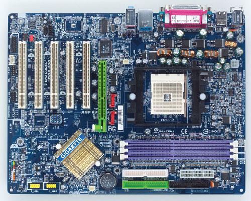 Gigabyte Motherboard Socket 754 GA-K8NS image