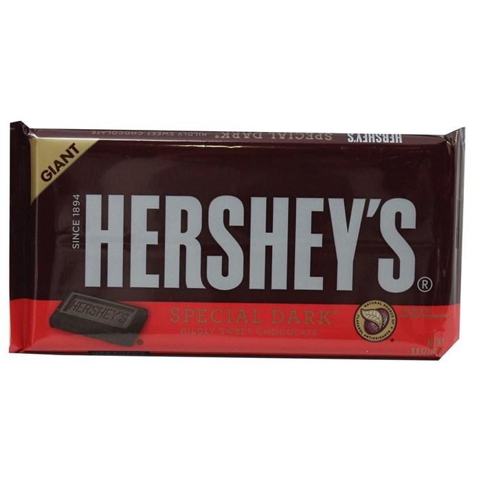Hershey's Giant Special Dark Chocolate Bar (193g) image