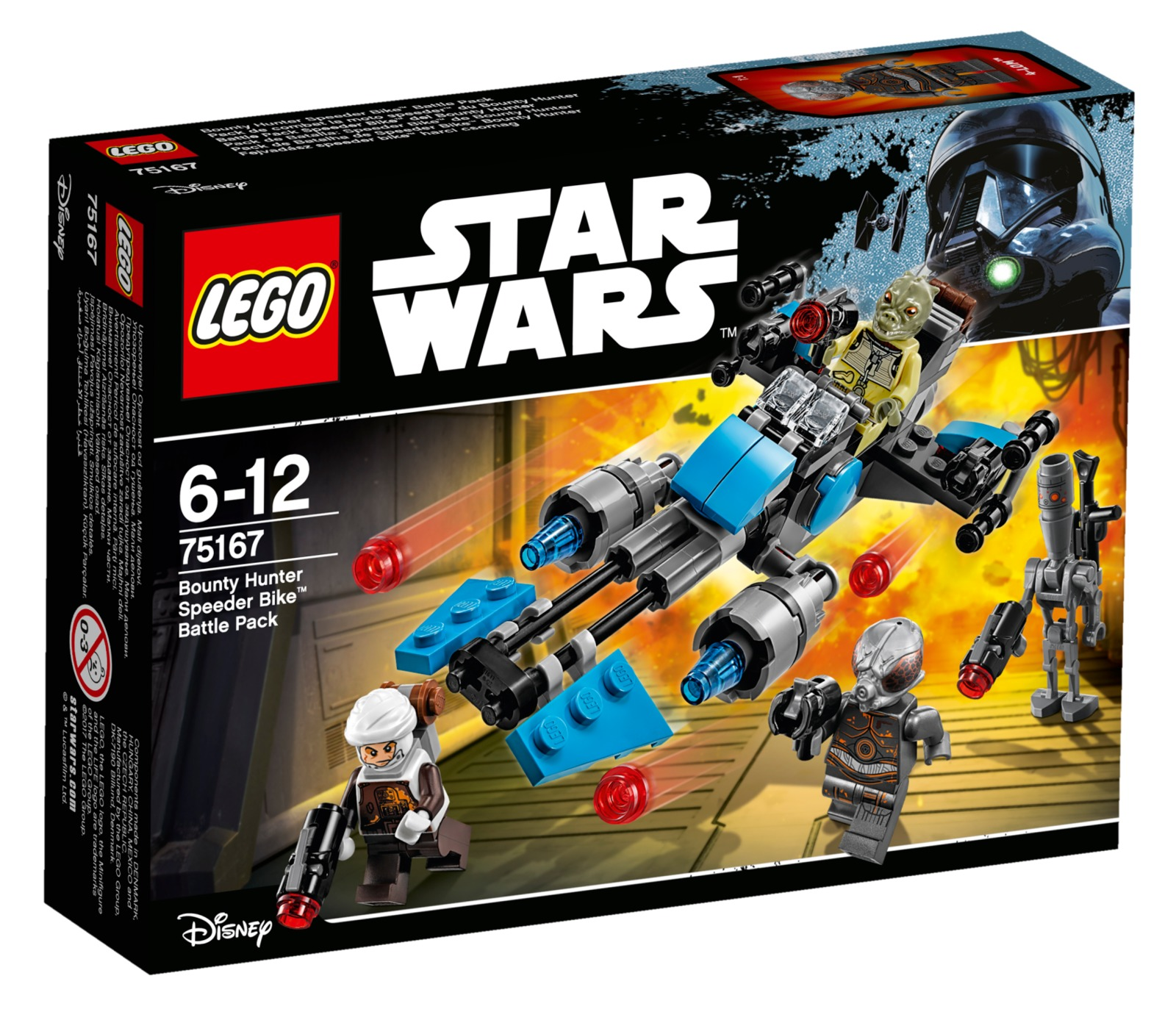LEGO Star Wars: Bounty Hunter Speeder Bike Battle Pack (75167) image