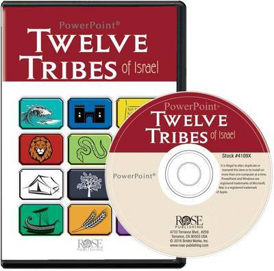 Twelve Tribes of Israel PowerPoint by Rose Publishing image