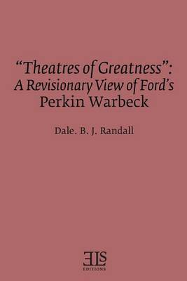 """theatres of Greatness"" by Dale B.J. Randall"