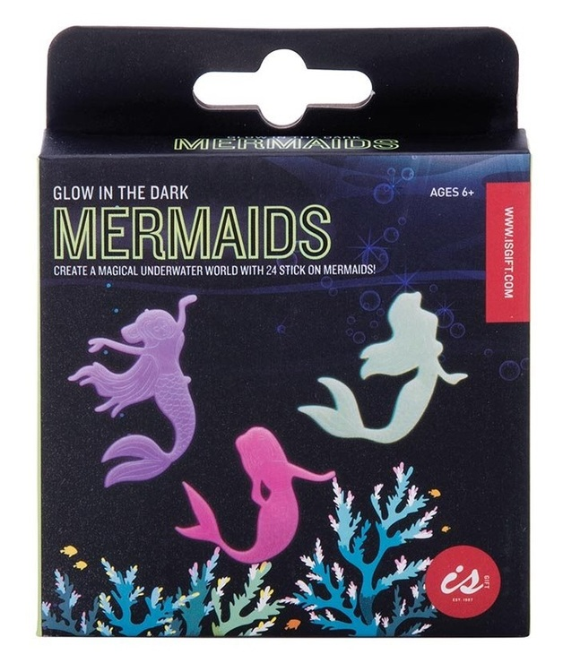 IS Gifts: Glow in the Dark - Mermaids Wall Stickers