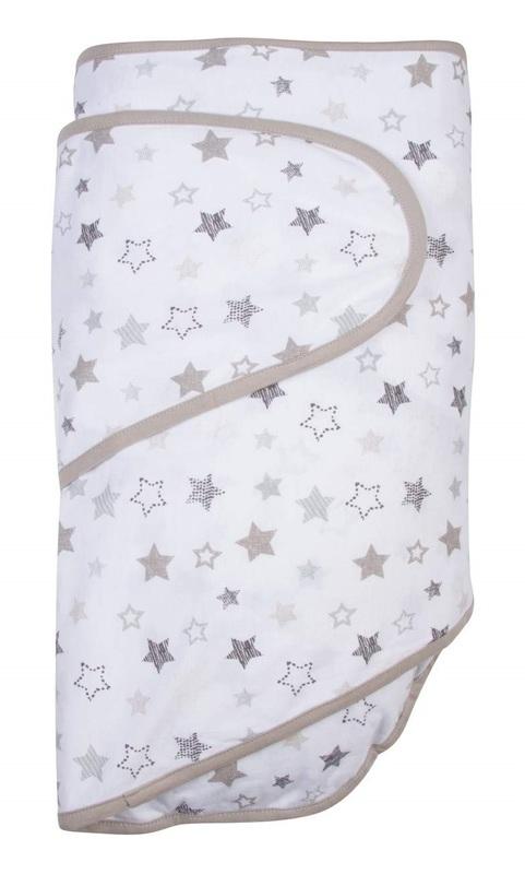 Miracle Blanket - Grey Stars