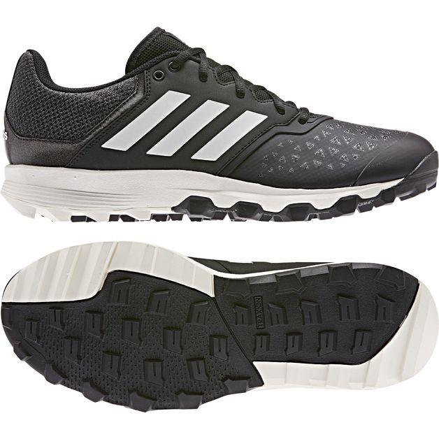 Buy Adidas: Flexcloud Hockey Shoes Black (2020) - US8 at Mighty Ape NZ