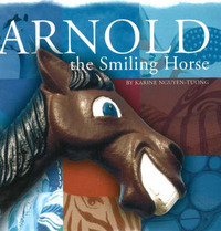 Arnold the Smiling Horse by Karine Nguyen-Tuong image