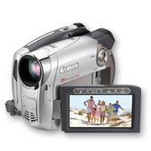 Canon DC230 DVD Video Camera 35x Zoom 1.07Mp CCD