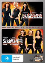 Charlie's Angels / Charlie's Angels Full Throttle - The Ultimate Collector's Pack (2 Disc Set) on DVD