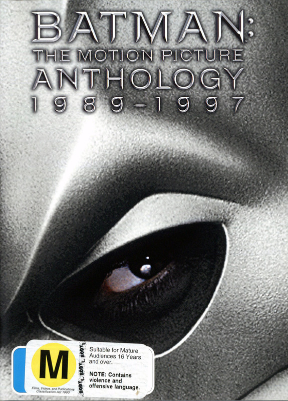 Batman: The Motion Picture Anthology - 1989-1997 (4 Disc Box Set) on DVD