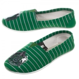 Harry Potter Slytherin Slip On Shoes (Medium)