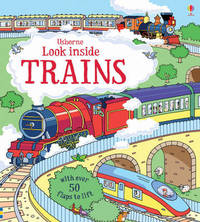 Look Inside Trains by Alex Frith