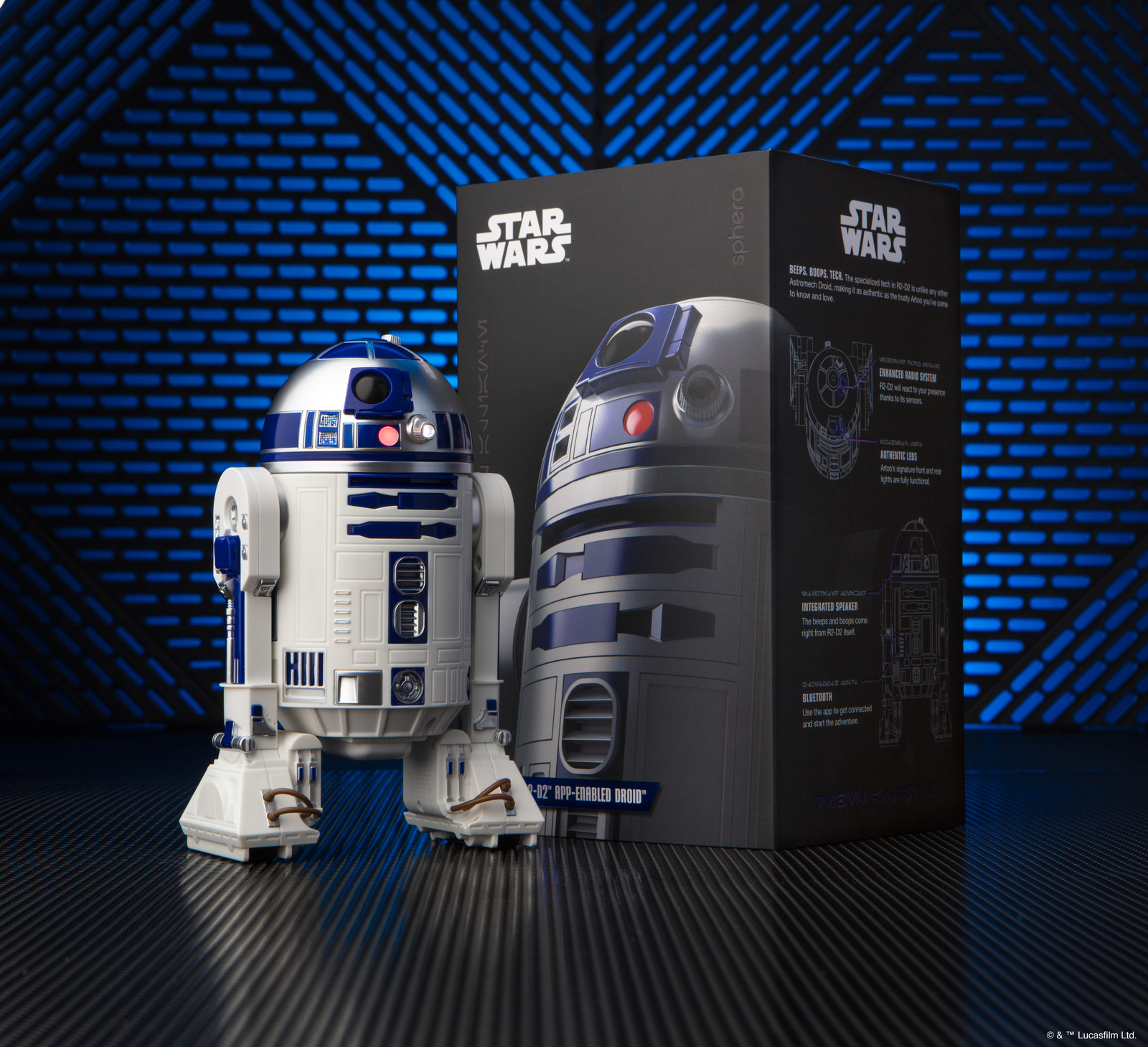 R2-D2 App-Enabled Droid image