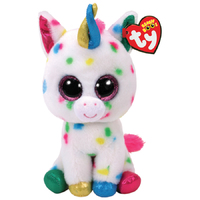 Ty Beanie Boo: Harmonie Unicorn - Small Plush