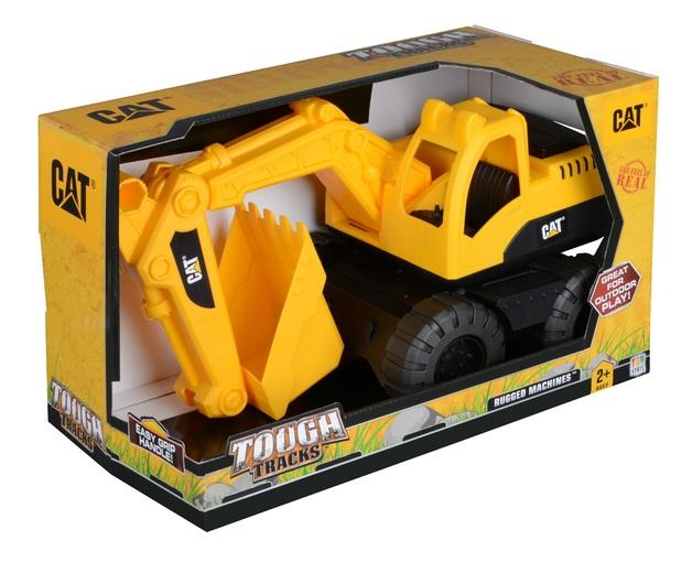CAT: Tough Tracks Rugged Machine - Excavator