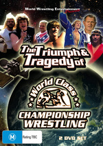 WWE - The Triumph And Tragedy Of World Class Championship Wrestling (2 Disc Set) on DVD