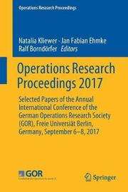 Operations Research Proceedings 2017