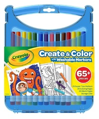 Crayola: Create & Colour - SuperTips Kit (Washable Markers)