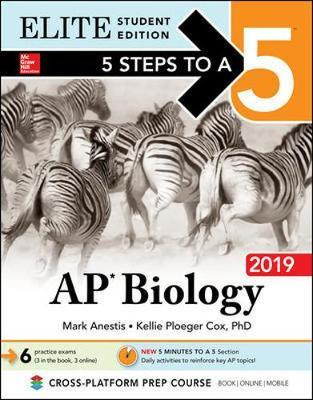 5 Steps to a 5: AP Biology 2019 Elite Student Edition by Mark Anestis image