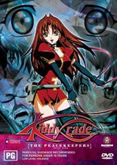 Kiddy Grade - Vol. 1: Peacekeeper on DVD