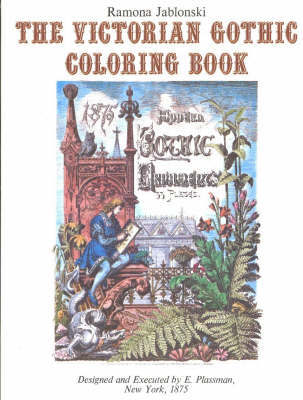 Victorian Gothic Coloring Book by Ramona Jablonski image