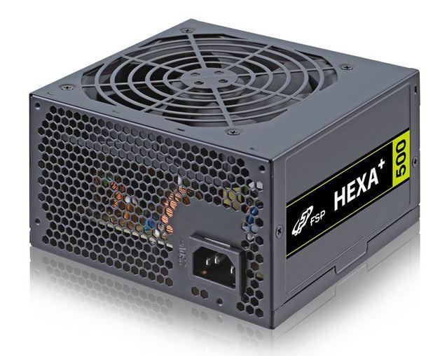 500W FSP HEXA+ ATX PSU