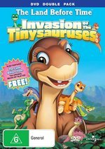 The Land Before Time - Vol 11 - Invasion Of The Tinysauruses: DVD Double Pack (2 Disc Set) on DVD