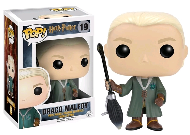 Harry Potter - Draco Malfoy Quidditch US Exclusive Pop! Vinyl Figure